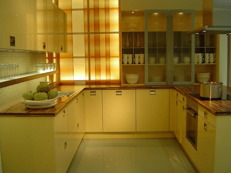 Дизайн кухни на две стороны фото