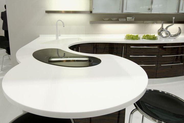 Столешница для кухни длиной 4200 мм и шириной 1200 мм столешница из искуссивенного камня