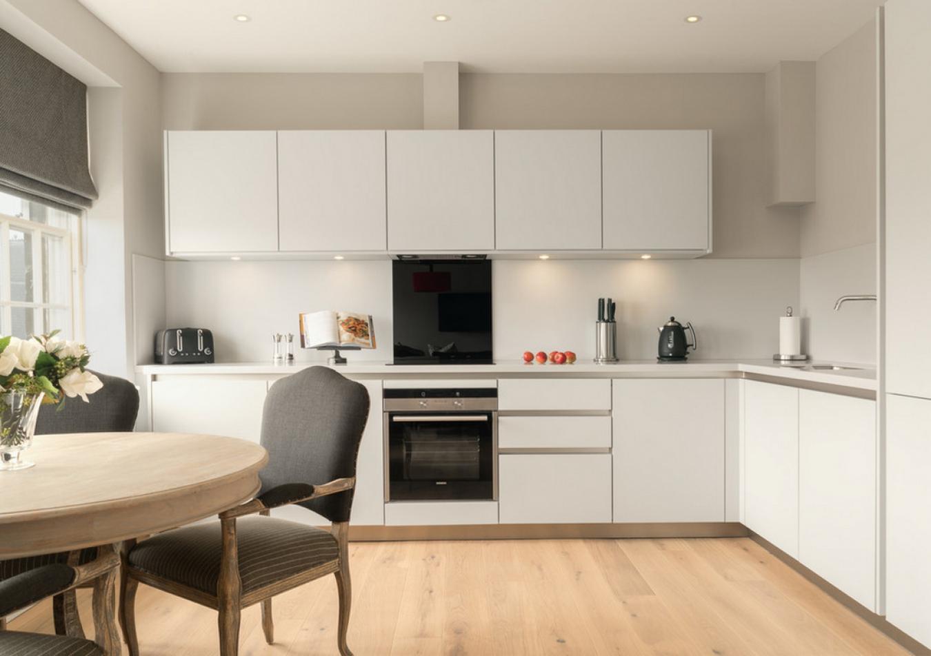 Дизайн кухни г образной формы 768