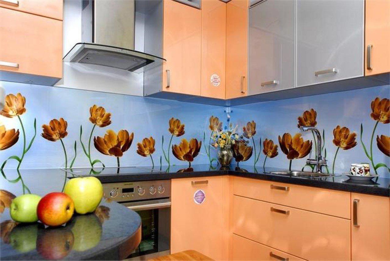 Как сделать стеклянную панель на кухню своими руками