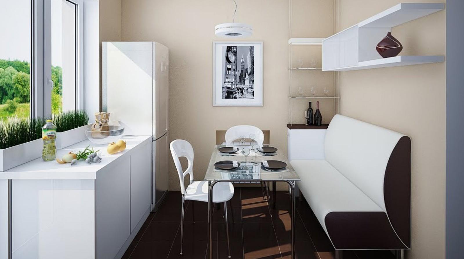 Дизайн столовойгалерея интерьера 6 кв м