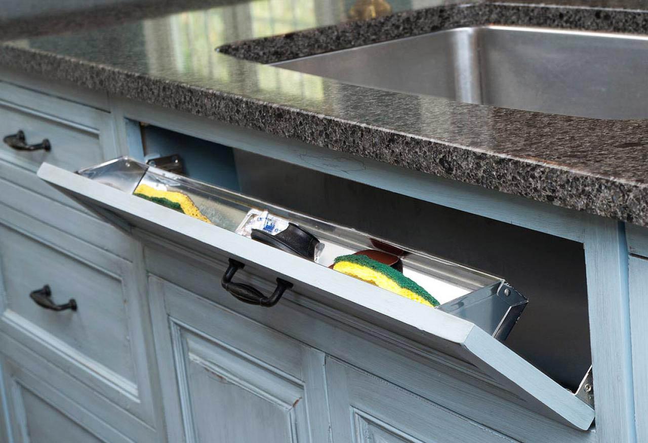Как сделать ящик для кухни под окном