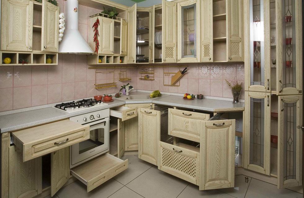 Кухонные шкафы по индивидуальным замерам