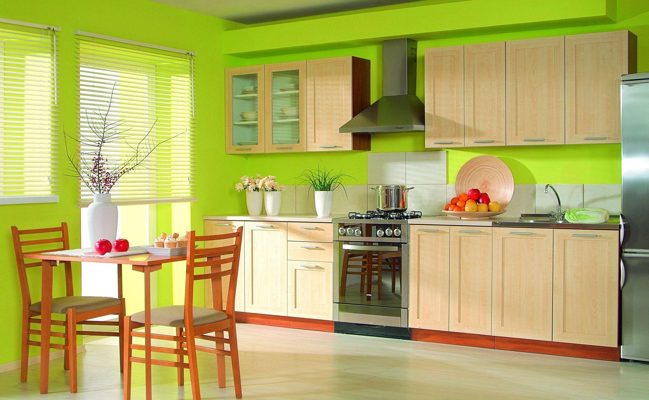 Как подобрать обои на кухню по цвету