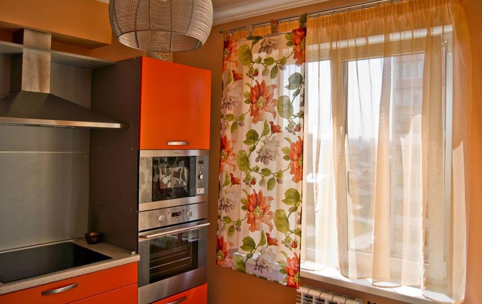 Шторы для кухни аксессуар делающий интерьер завершенным